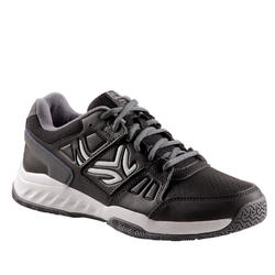 Tennisschoenen voor heren TS160 zwart multicourt