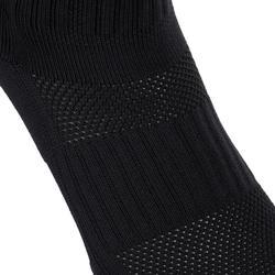 Chaussettes hautes de rugby homme R500 rouge noire