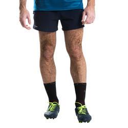 Short de rugby R500 homme bleu marine