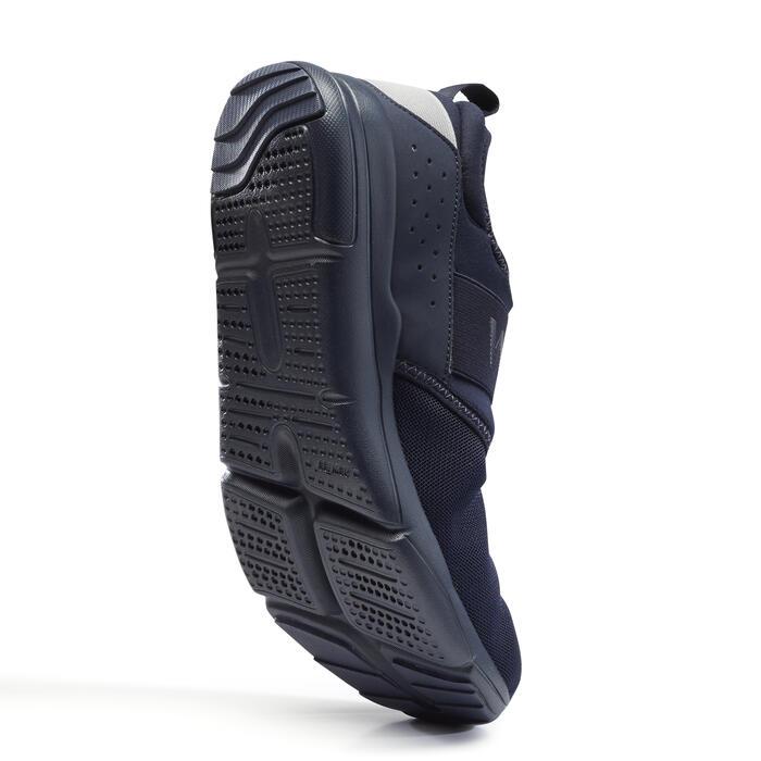 Herensneakers voor sportief wandelen PW 160 Slip-On blauw