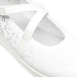 Ballerines marche sportive femme PW 160 Br'easy Blanc
