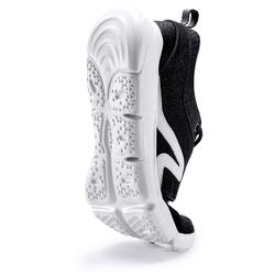 Chaussures marche sportive femme PW 120 noir / blanc