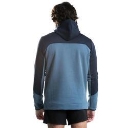 Rugby-Hoodie Kapuzen-Sweatshirt R500 Herren blau