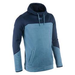Hoodie voor rugby heren R500 marineblauw
