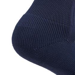 CHAUSSETTES de RUGBY R500 FEMME corail/bleu marine