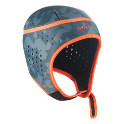 Casque de rugby 100 junior gris