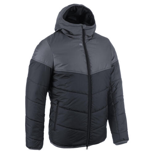 VESTE COACH DECATHLON CLUB COURTE R500 ADULTE NOIR