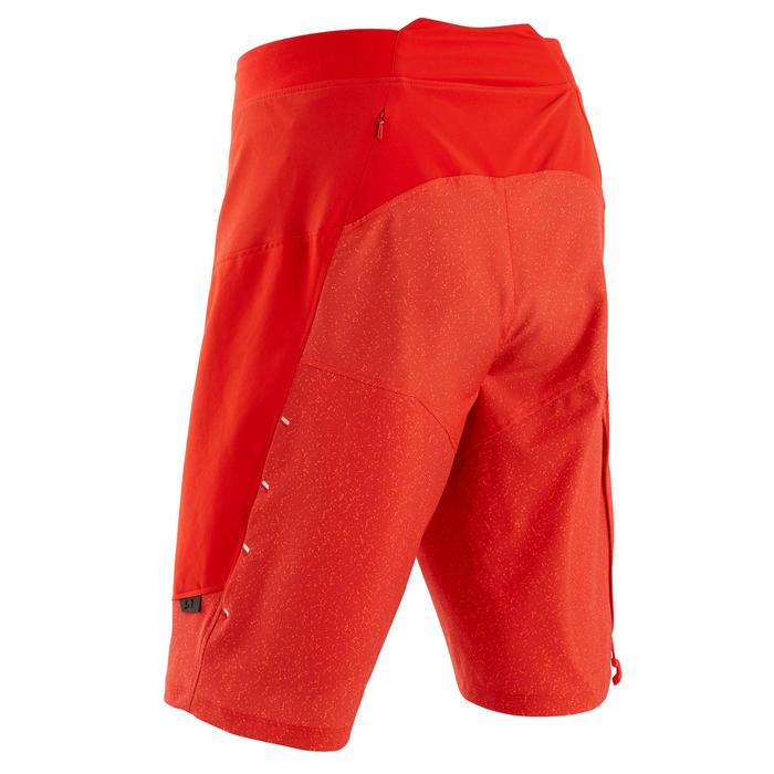 MTB-short voor heren ST 500 rood