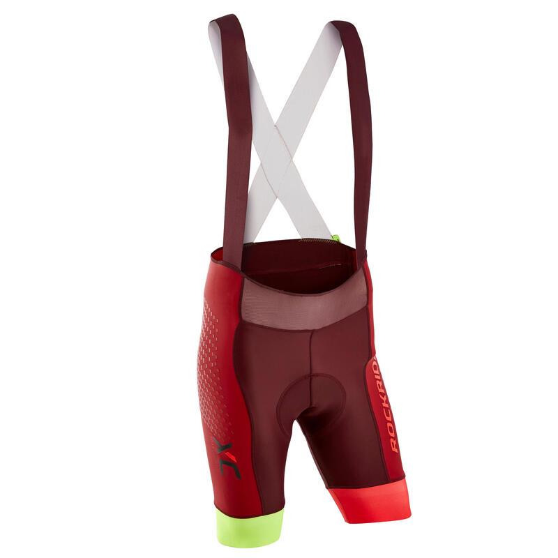 XC Marathon Mountain Biking Shorts - Red