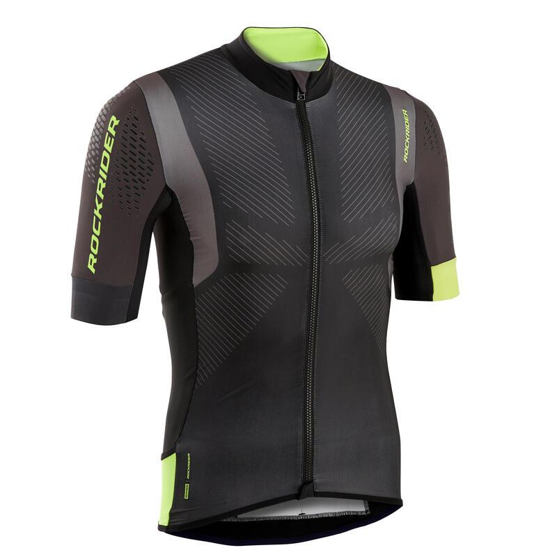 XC Marathon Mountain Biking Jersey - Black