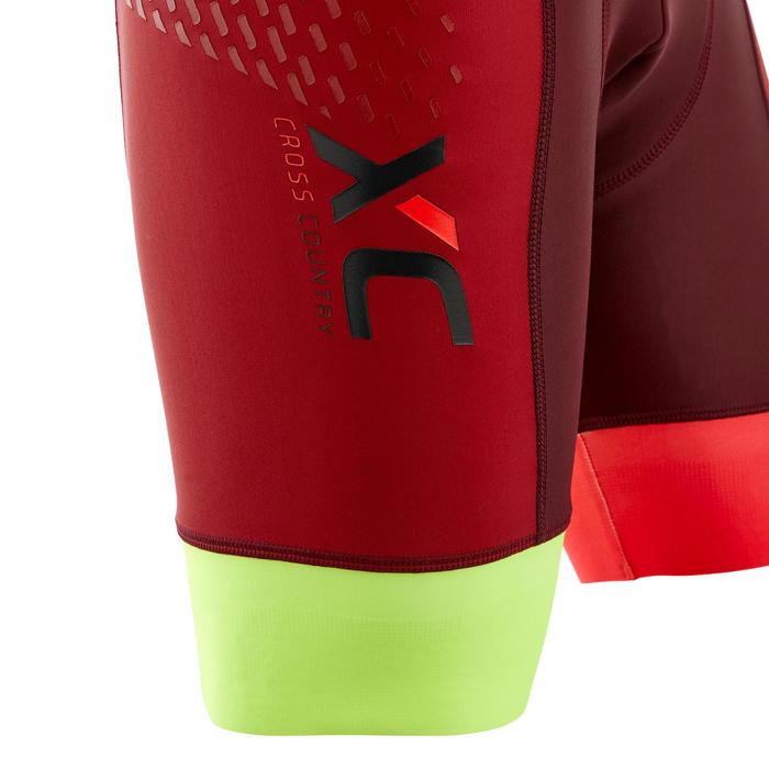 MTB-broekje XC Marathon rood