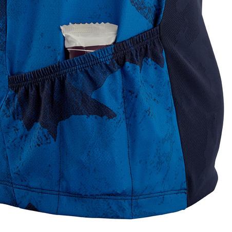 Short-Sleeved Mountain Bike Jersey ST 500 - Blue