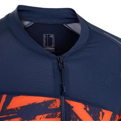 短袖登山車衣ST 500 - 藍色