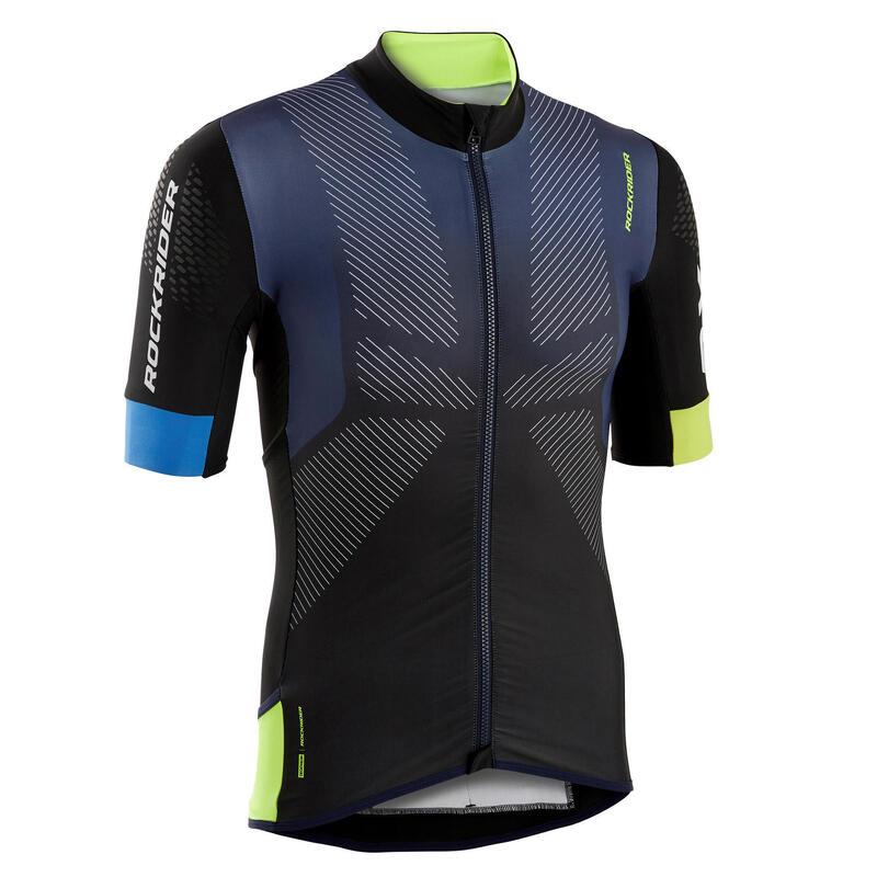 MTB-shirt XC Marathon blauw