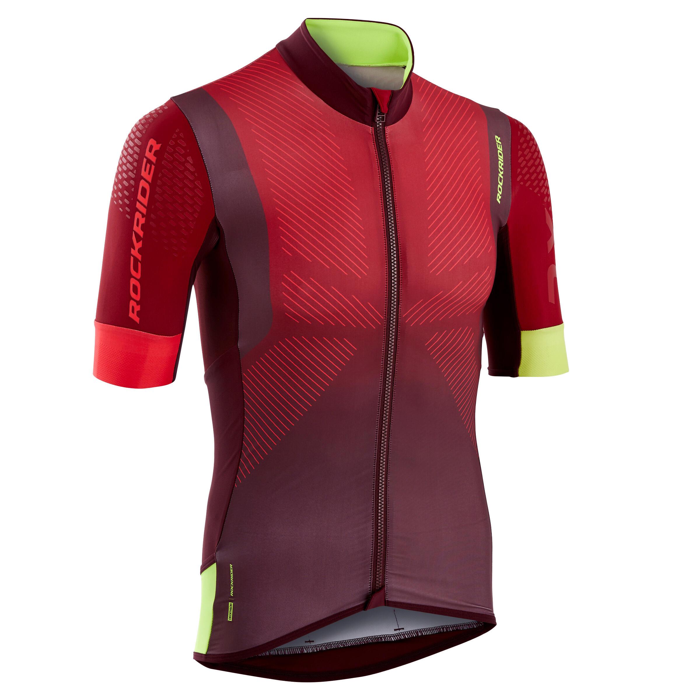 Tricou MTB XC Roșu Bărbați
