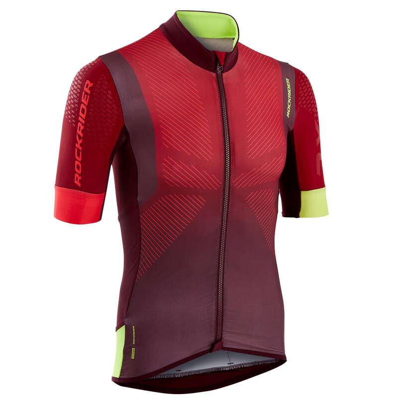 PÁNSKÉ OBLEČENÍ NA HORSKÉ KOLO DO TEPLÉHO POČASÍ Cyklistika - DRES XC MARATHON ROCKRIDER - Helmy, oblečení, obuv