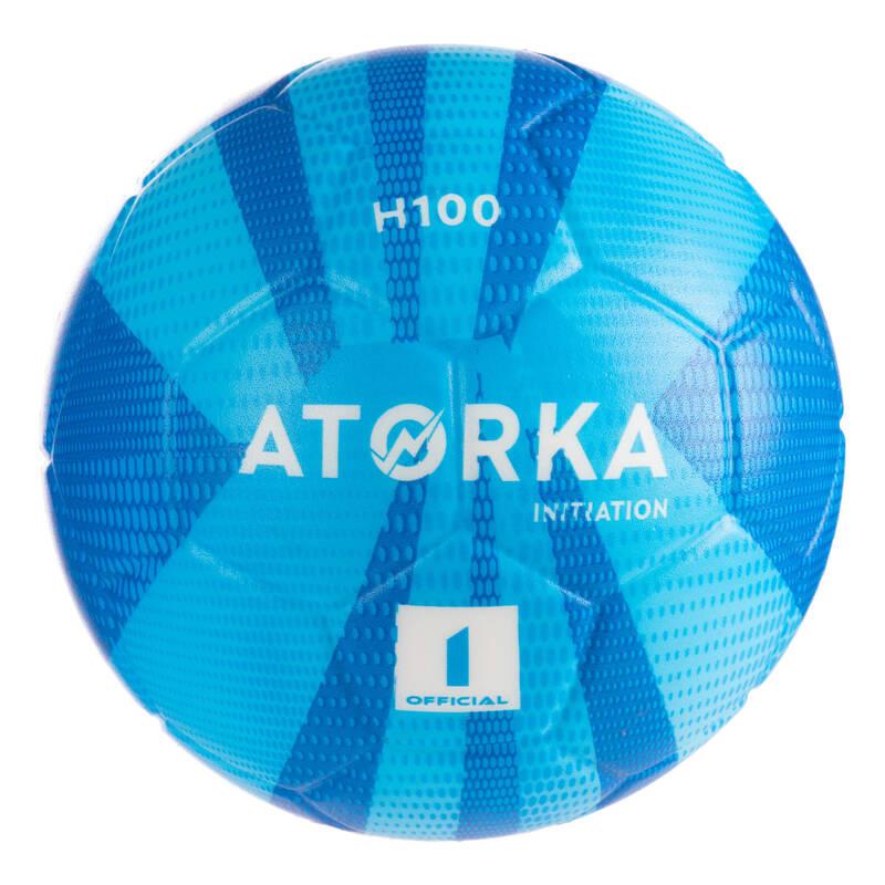 HÁZENÁ Házená - MÍČ H100 VEL. 1 MODRÝ ATORKA - Házenkářské míče