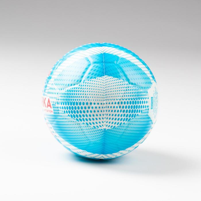 Ballon de handball H100 enfant T00 bleu/blanc