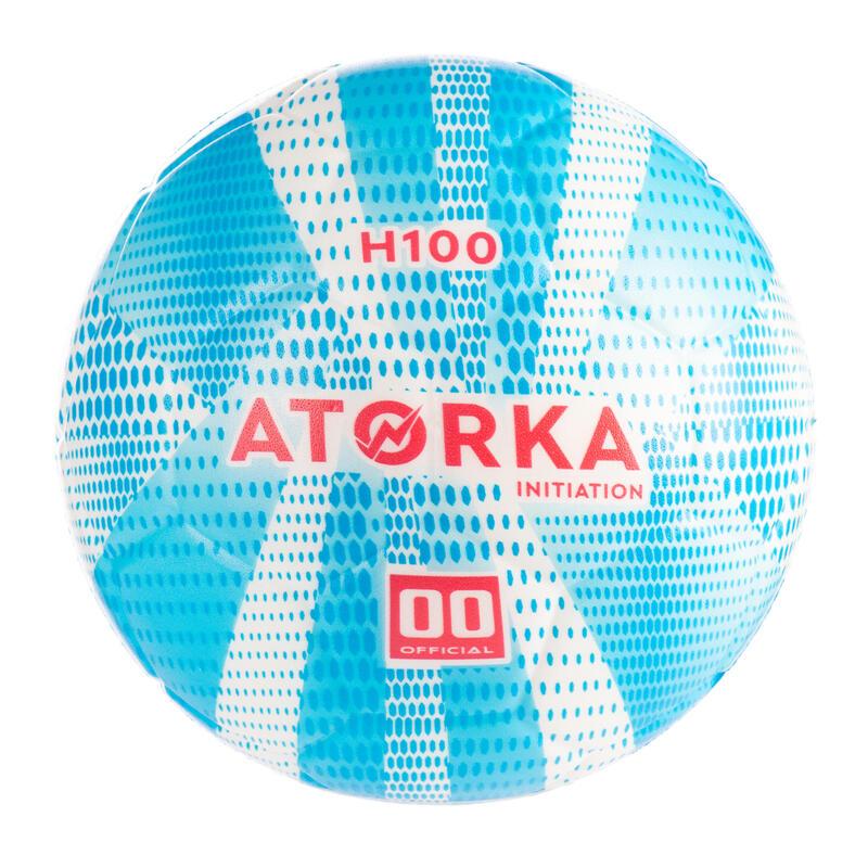 Kids' Size 00 Handball H100 - Blue/White