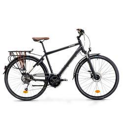 STADSFIETS HOPRIDER 900 - TREKKINGFIETS VOOR LANGE AFSTANDEN Heren Hybride fiets
