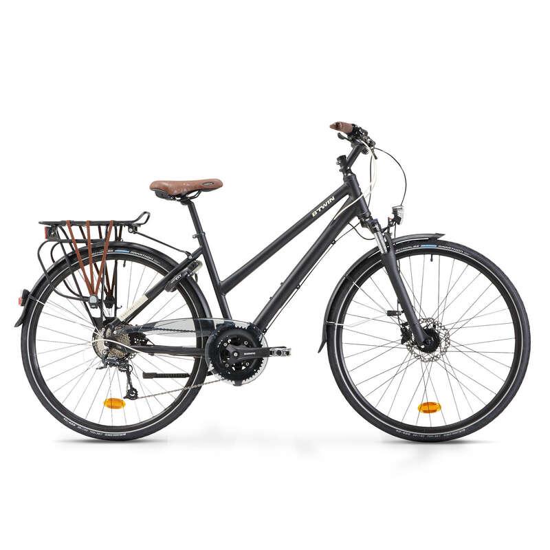 BICI CITTÀ LUNGA DISTANZA Ciclismo, Bici - Bici città HOPRIDER 900 BTWIN - BICI