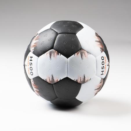 Balón Handball Atorka H500 Adulto T3 Negro/Gris