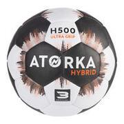 Balón Balonmano Atorka H500 Adulto T3 Negro/Gris