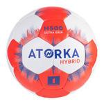 ATORKA Handbal voor kinderen hybride maat 1 grijs/rood