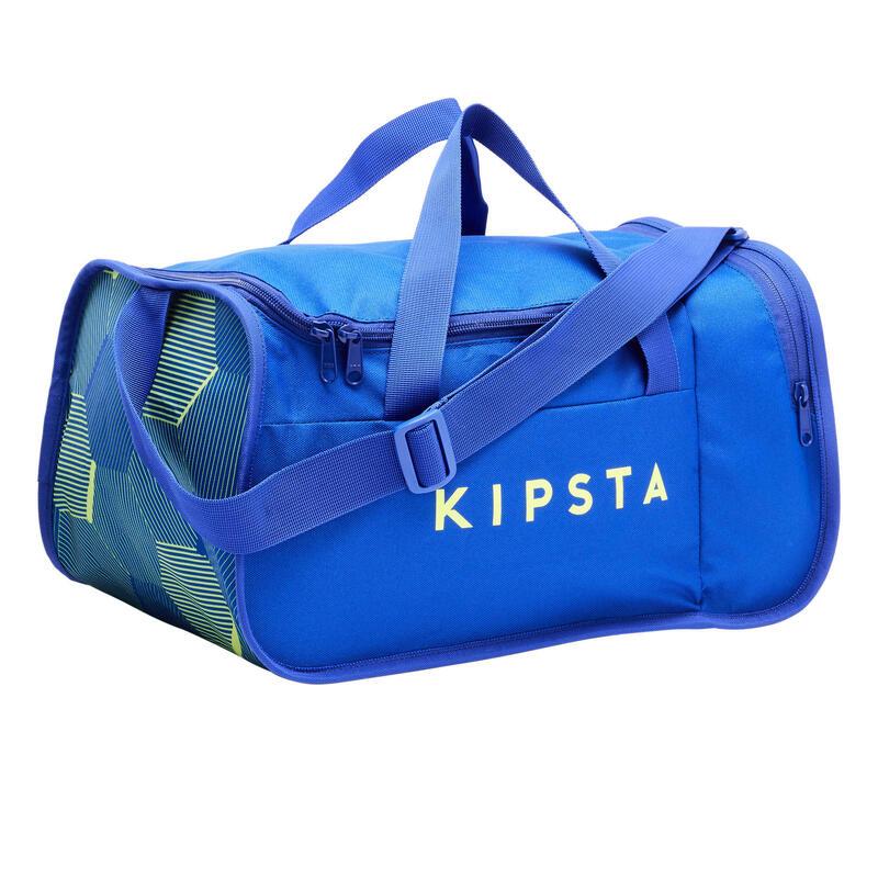 Borsa sport KIPOCKET 20 litri blu-giallo