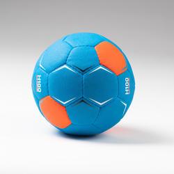 Handbal voor kinderen H100 Soft maat 1 blauw/oranje