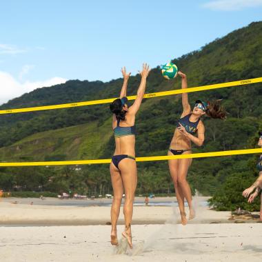 Die richtige Wahl des Beachvolleyballnetzes