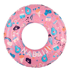 Kids' Inflatable pool ring 65 cm 6-9 Years - Pink
