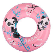 Swimming inflatable 51 cm pool ring for kids aged 3-6 - pink
