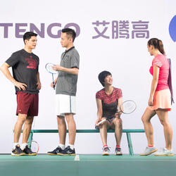 Artengo dames-T-shirt Soft Graph voor tennis, badminton, tafeltennis, padel grn - 181830