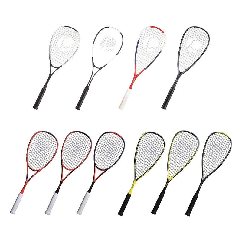 Kit Digital Squash Raquetas Expo 2019 (10 raquetas showroom y 6 de prueba)