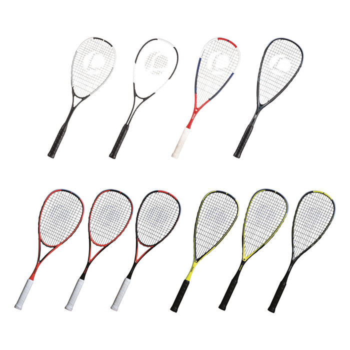 Kit Digital Squash Raquettes Expo 2019 (10 raquettes showroom et 6 de tests)