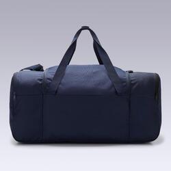 Voetbaltas / Sporttas Essentiel 75 liter marineblauw