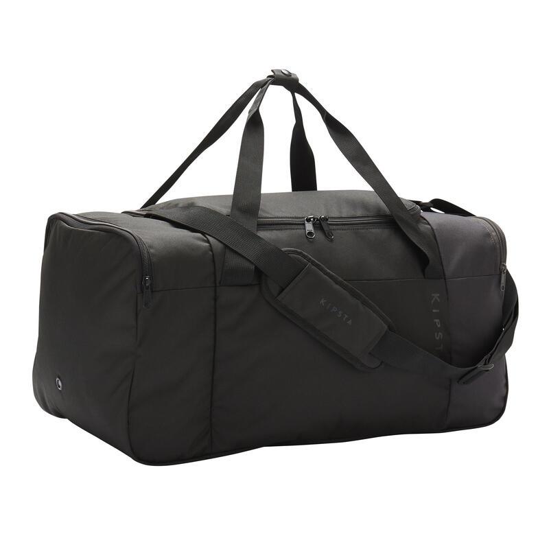 Bolsa de Deporte Kipsta Essentiel 55 litros negro