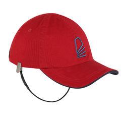 成人款航海帽Sailing 100-酒紅色
