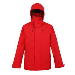 男款防水航海外套SAILING 300-紅色