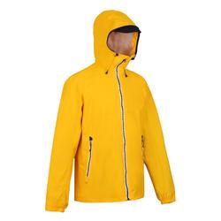 男款航海防水外套SAILING100-黃色