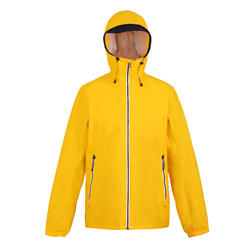 Men's SAILING 100 Jacket Waterproof Yellow CN