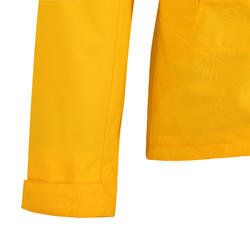 女款航海防水外套Sailing 300-黃色