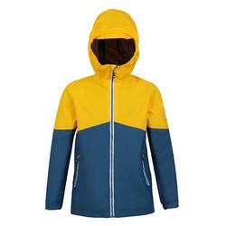 兒童款防水航海外套100-藍色/黃色