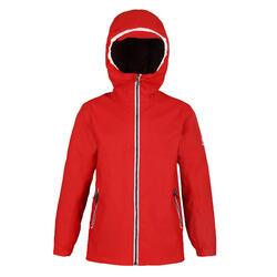 兒童款防水航海外套SAILING 100-紅色