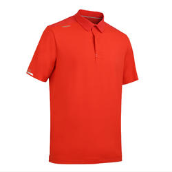 Men's Sailing Short Sleeve Polo Shirt Race 500 Red