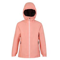 Kid's sailing waterproof jacket SAILING 100 - Pink