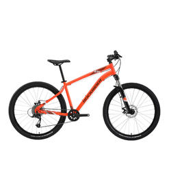 "Mountainbike ST 120 27.5"" 1x9 speed rockrider/microshift oranje"