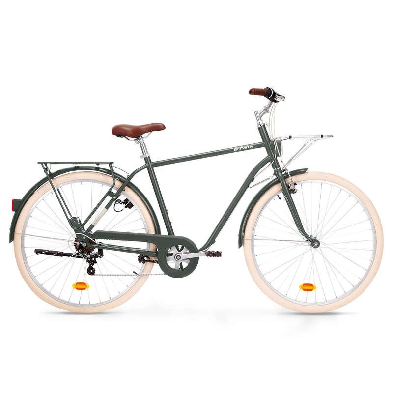 КЛАССИЧЕСКИЕ ГОРОДСКИЕ ВЕЛОСИПЕДЫ Велоспорт - ГОРОДСКОЙ ВЕЛОСИПЕД ELOPS 520 ELOPS - Семьи и категории