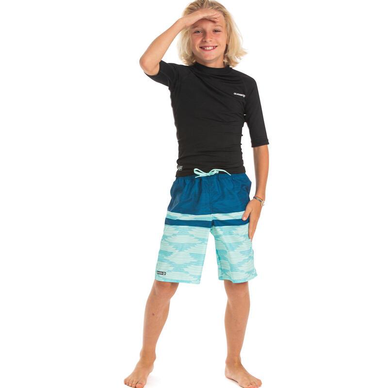Bañador Niño Surf Largo Olaian Azul